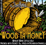 Jackie O's Wood Ya Honey beer