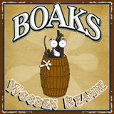 Boak's Wooden Beanie Beer