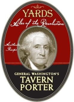 Yards General Washington Tavern Porter Bourbon Barrel beer Label Full Size