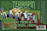 Terrapin So Fresh & So Green, Green beer