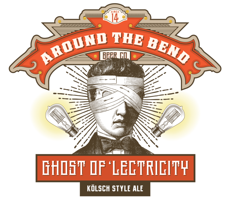 Around the Bend Ghost of 'lectricity Beer