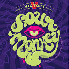 Victory Sour Monkey beer Label Full Size