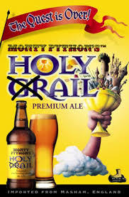 Black Sheep Monty Python Holy Grail Ale beer Label Full Size