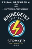 Rhinegeist Stryker beer
