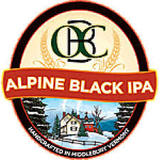Otter Creek Alpine Black IPA beer
