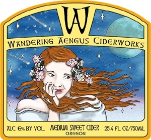 Wandering Aengus Bloom beer Label Full Size