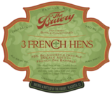 Bruery 3 French Hens beer