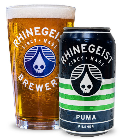 Rhinegeist Puma beer Label Full Size