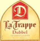 La Trappe Dubbel beer Label Full Size