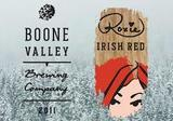 Boone Valley Roxie Irish Red Beer