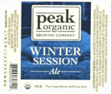 Peak Organic Winter Session Ale Beer