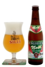 Brasserie de Silly Noel Triple Blonde beer Label Full Size