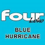 Four Loko Blue Hurricane Beer