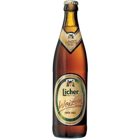 Licher Weizen beer Label Full Size