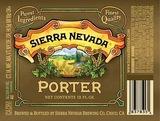 Sierra Nevada Porter Beer