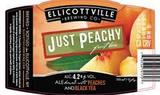 Ellicottville Just Peachy Beer
