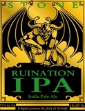 Stone Ruination IPA Beer