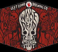 Left Hand Wake Up Dead beer Label Full Size