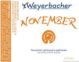 Weyerbacher November beer