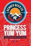 Denver Beer Princess Yum Yum Raspberry beer
