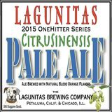 Lagunitas CitruSinensis Pale Ale beer