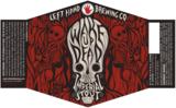 Left Hand Wake Up Dead Barrel Aged beer