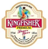 Kingfisher Premium Lager beer