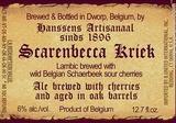 Hanssens Scarenbecca Kriek beer