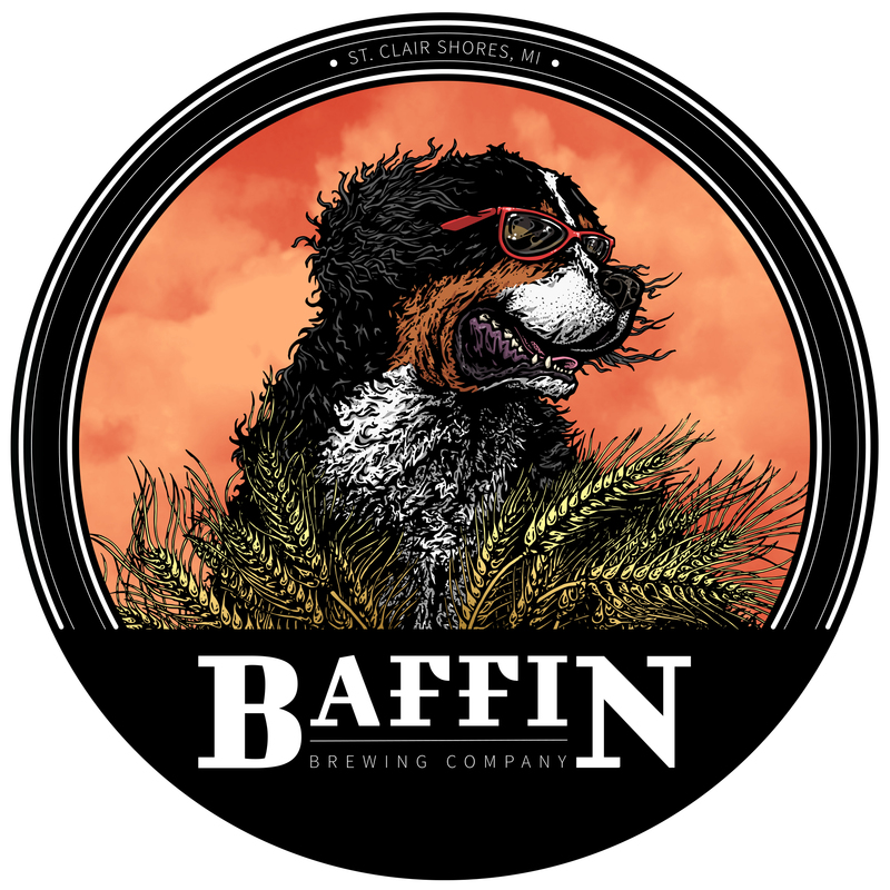 Baffin Heffenwolf beer Label Full Size