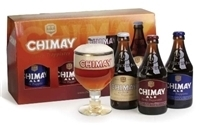 Chimay Gift Set beer Label Full Size