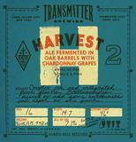 Transmitter H2 Sour Chardonnay Saison beer