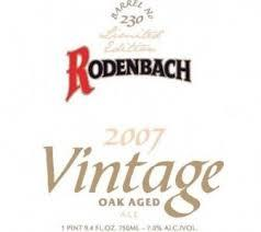 Rodenbach Vintage Ale beer Label Full Size