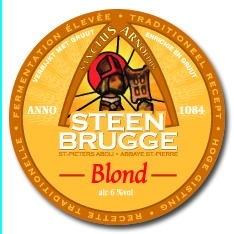 Steenbrugge Blond beer Label Full Size