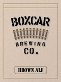 Boxcar Brown Ale beer