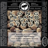 Blind Bat Long Island Potato Stout beer