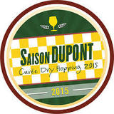 Saison Dupont Cuvée Dry Hopping 2015 beer
