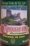 George Gale Conquest Ale 2001 beer