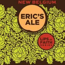 New Belgium Lips of Faith: Eric's Ale beer Label Full Size