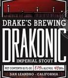 Drake's Drakonic Imperial Stout beer