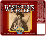 AleWerks Washington's Porter beer