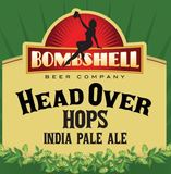 Bombshell Head Over Hops IPA beer
