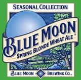 Blue Moon Spring Blonde beer