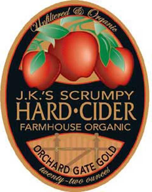 JK Scrumpy Summer Cider beer Label Full Size