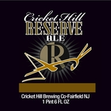 Cricket Hill Brewmaster's Reserve American Brown Ale beer