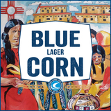 Confluence Blue Corn Lager beer