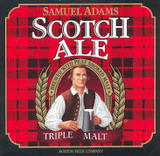 Sam Adams Scotch Ale beer