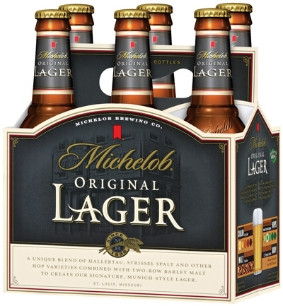 Michelob Lager beer Label Full Size