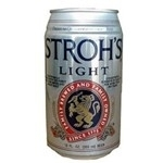 Stroh's Light beer