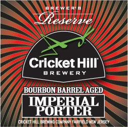Cricket Hill Brewmaster's Reserve Bourbon Barrel Aged Porter Beer