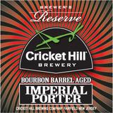 Cricket Hill Brewmaster's Reserve Bourbon Barrel Aged Porter beer